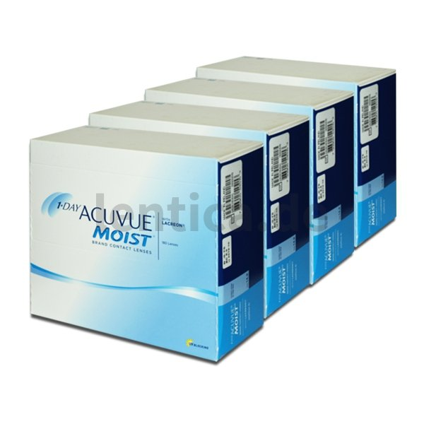 1-Day Acuvue Moist , 4 x 180 Stck.