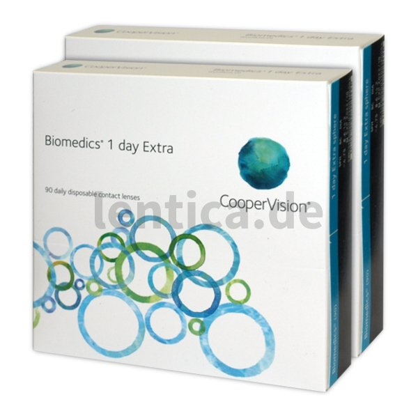 Biomedics 1 day Extra 2x90 Stck. Cooper Vision