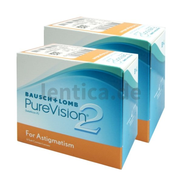 PureVision 2HD for Astigmatism 2 x 6 Stck.