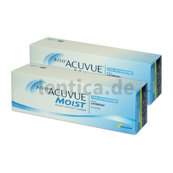 1-Day Acuvue Moist for Astigmatism, 2 x 30 Stck.