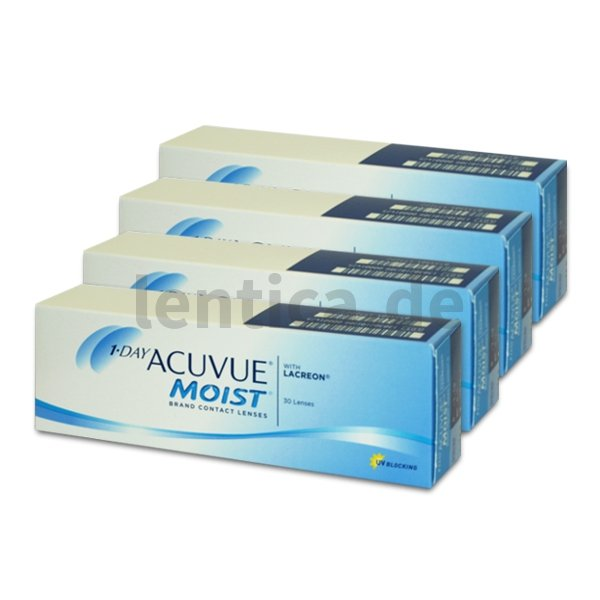 1-Day Acuvue Moist , 4 x 30 Stck.