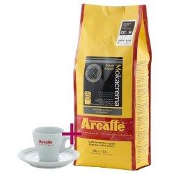 Zestaw Arcaffe Mokacrema 1kg + filiżanka do espresso