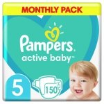 Pampers Active-Baby Monthly Box 150 szt.