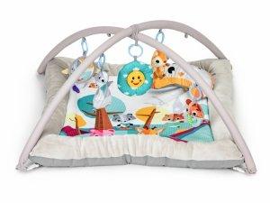 Mata edukacyjna dla niemowląt 6 zabawek, grube brzegi Ecotoys
