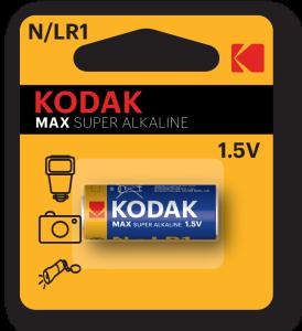 Kodak MAX LR1 N Jednorazowa bateria Alkaliczny