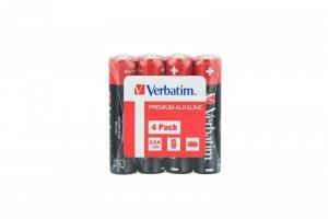 Zestaw baterii AAA Verbatim LR3 AAA 49500 (x 4)