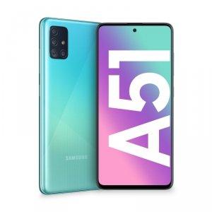 Smartfon Samsung Galaxy A51 128GB Blue (6,5; Super AMOLED; 2400x1080; 4GB; 4000mAh)