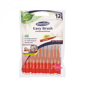 Dentek Interdental 2,3/3,8mm Easy Brush 12 sztuk