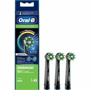 Oral-B EB50BRB CrossAction Clean Maximizer BLACK opakowanie 3 sztuki