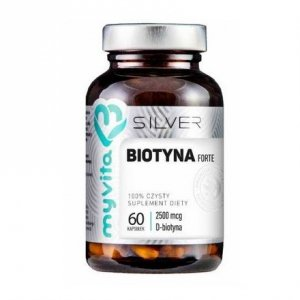 Silver Pure 100% Biotyna 2500µg 60 kaps.