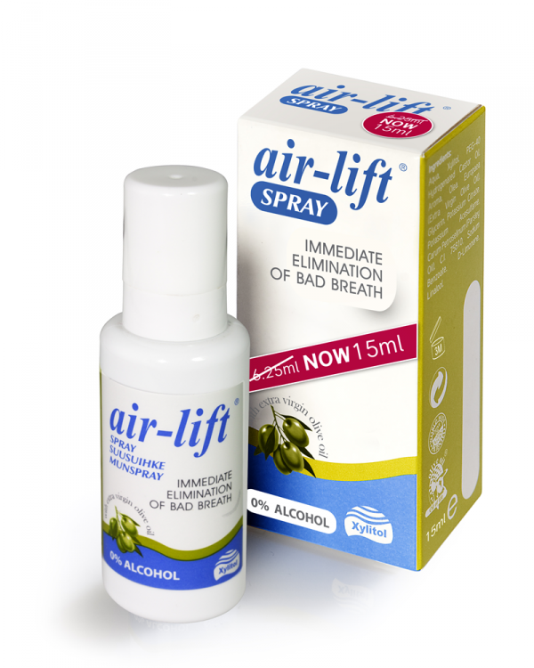 Air-Lift spray - odświeżacz do ust w sprayu 15ml