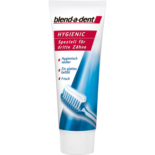 BLEND-A-DENT Hygienic Creme 75ml - kremowa pasta do czyszczenia i pielęgnacji protez zębowych