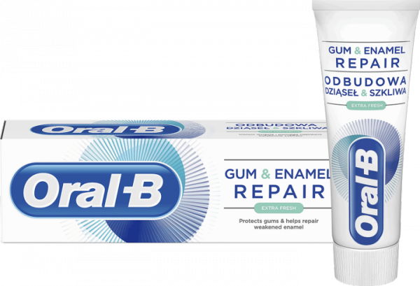 ORAL-B Repair Gum & Enamel | Extra Fresh | Super Odświeżenie 75ml