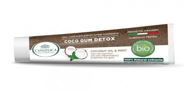 L'Angelica pasta Coco GUM Detox 75ml 100% natural extracts