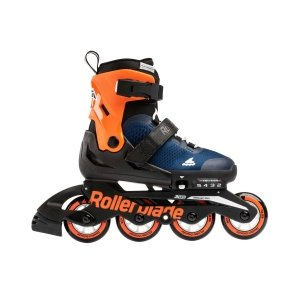 Rolki Rollerblade Microblade G (midnight blue / orange) 2020