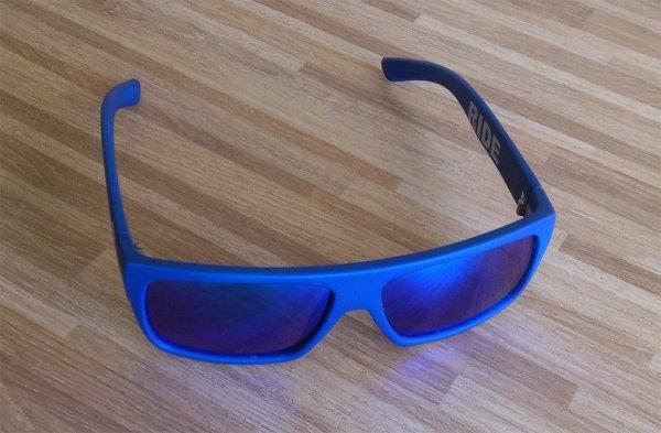Okulary  Neon Ride (cyan fluo/blue)