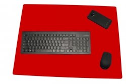 Podkładka na biurko stolik kolor 65x50 czerwona Gdańsk
