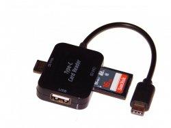 Czytnik USB-C OTG SD MicroSD HUB GDAŃSK