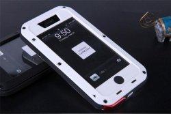 Obudowa biała pancerna GORILLA GLASS iphone 5, 5s
