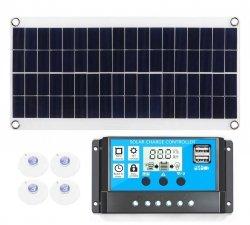 Panel słoneczny solar regulator 30A 2xUSB