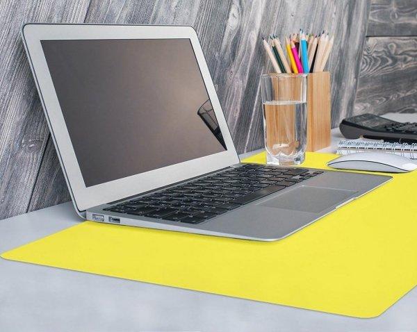 Podkładka na biurko stolik kolor 65x50 niebieska Gdańsk