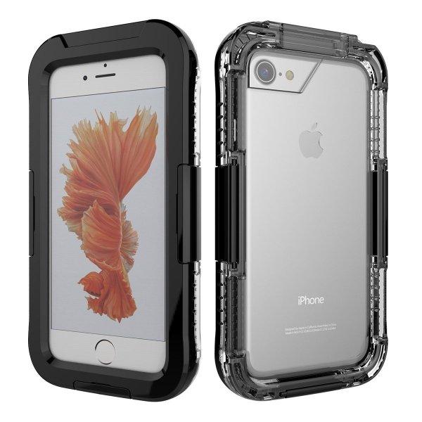 Obudowa czarny etui wodoodporna IP68 apple iPhone 5 5S SE