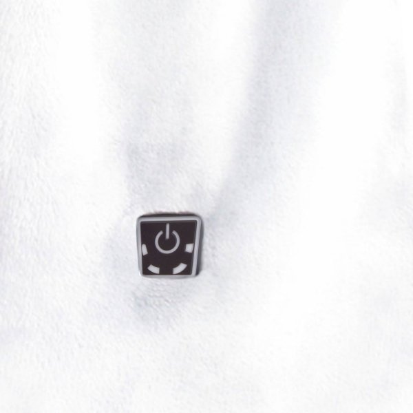 Szalik Glovii GA1 White (ogrzewany)