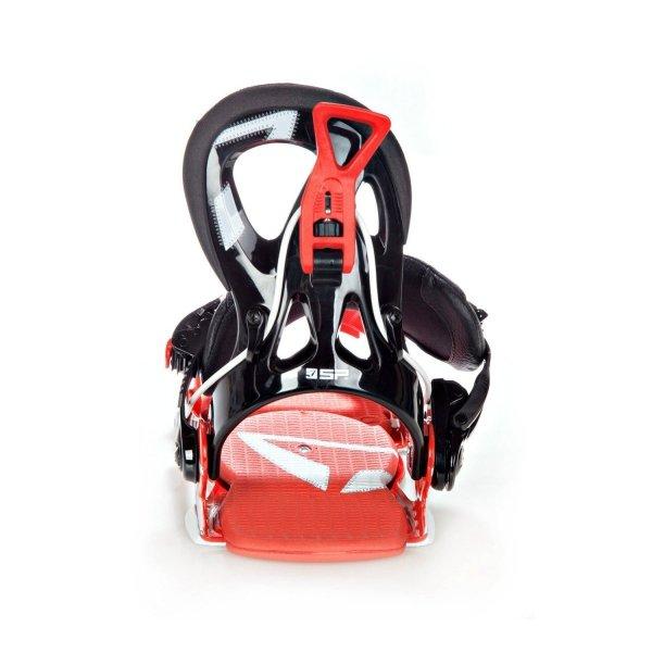 Wiązania snowboardowe SP Fastec Core (black/red) 2017