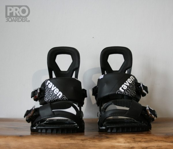 Wiązania snowboardowe Raven s240 (black) 2020