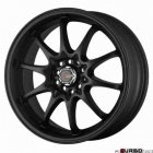 Drag Wheels DR9 Matt black 17x7 4x100/114,3 ET40