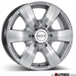 Dotz 4x4 Luxor High gloss 8x17