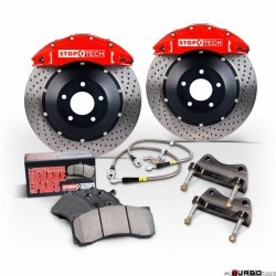 Stoptech Performance Big Brake Kit 2BX BBK FRONT SUB STI'04-07 355X32/ST40