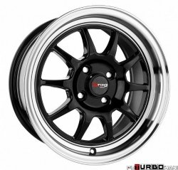 Drag Wheels DR16 Gloss Black 16x7 5x114,3 ET40