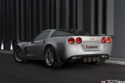 AKRAPOVIC Evolution Line (SS) Chevrolet Corvette ZO6/ZR1 2006-2011