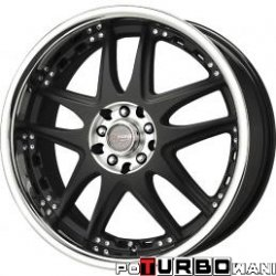 Drag Wheels DR14 7x17 4x100-114,3 ET40 otw. 73