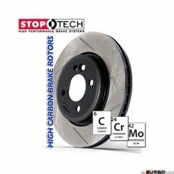 StopTech 126 Hi-Carbon Slotted tarcza hamulcowa BMW 126.34045SR