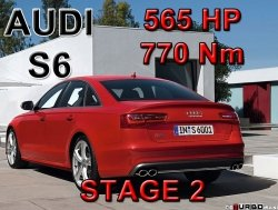 Audi S6 STAGE 2 - 565 HP / 770 Nm PAKIET MOCY