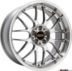 BBS RS-GT Performance Line 10x20 5x120 ET22 Polished Silver