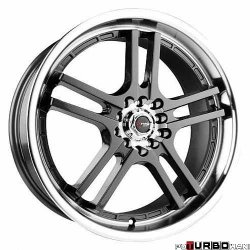 Drag Wheels DR12 Gun Metal 18x7,5 4x100/114,3 ET42