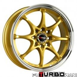 Drag Wheels DR16 7x17 5x114,3 ET40 otw. 73