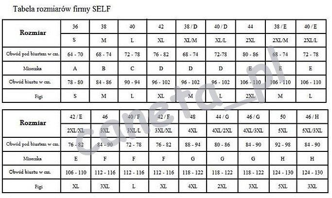 SELF Kostium kąpielowy S1023 v17 R: