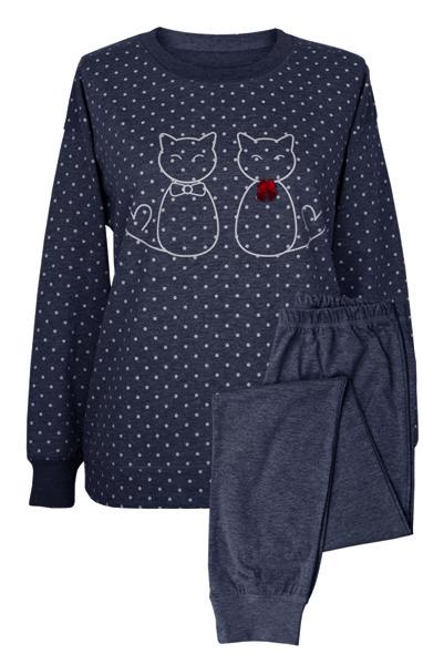 MuZZy Dwa koty Granat 100% bawełny R: