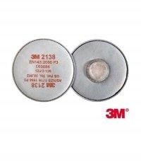 Filtr przeciwpyłowy 3M 2138 (kpl. 2 sztuki)