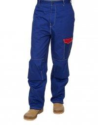 WELDAS-Fire Fox™ bawełniane spodnie spawalnicze 33-2600 M, L, XL