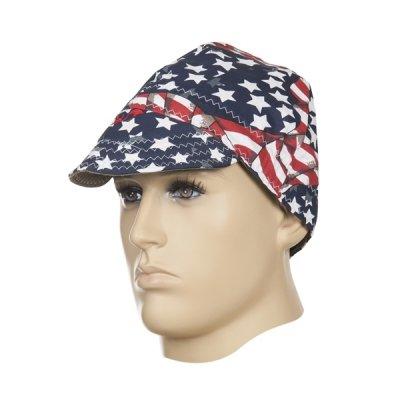 WELDAS-czapka spawalnicza USA FLAG (55 cm)