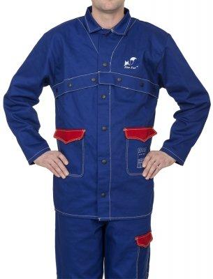 WELDAS-FIRE FOX bawełniana kurtka spawalnicza 33-2300 L