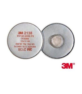 Filtr przeciwpyłowy 3M 2138 (szt.)