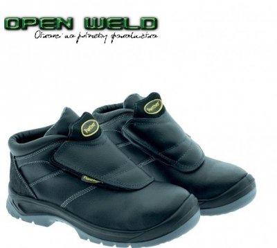 Wytrzymałe buty spawalnicze NEW URAGANO S3 RC HRO