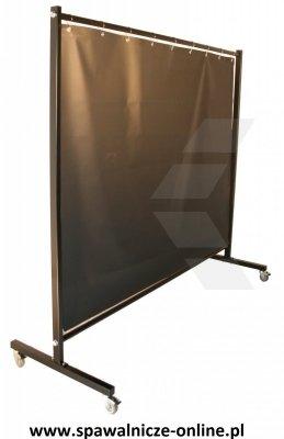 Parawan spawalniczy REGULAR z kurtynami zbrojonymi 3200x1900 mm (szer x wys)