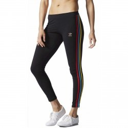 ADIDAS ORIGINALS LEGGINSY 3 STR LEGGINGS CZARNE AY9452